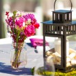 Wedding Reception Table Details — Stock Photo #37069805