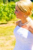 Bride On Her Wedding Day — Stock Photo