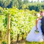 Bride and Groom Wedding Kiss — Stock Photo #37070385