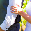Bride and Groom Wedding Day — Stock Photo