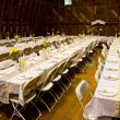 Reception Dinner Tables — Stock Photo #37075951