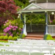 Wedding Venue and Chairs — Stock Photo #37078247