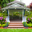 Stock Photo: Wedding Gazebo