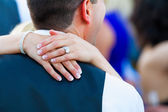 Bride and Groom First Dance — Stock Photo