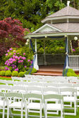 Wedding Venue and Chairs — Stock Photo