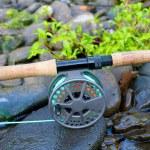 Fly Fishing Reel — Stock Photo