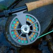 Fly Fishing Reel — Stock Photo #37083207
