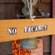Stock Photo: No Vacancy