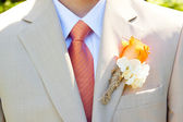 Groom Wedding Attire — Stock Photo