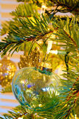 Elegant Christmas Ornaments — Stock Photo
