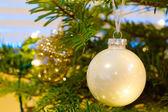Elegant Christmas Ornaments — Stock Photo