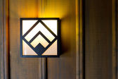 Lodge Light Fixtures — Stock Photo