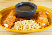 Mexican Restaurant Food — Stock Photo