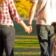 Stock Photo: Couple Holding Hands