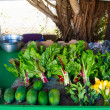 Stock Photo: Farmers Market Vegetables