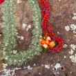 Stock Photo: Leis on HawaiiBirthing Stones