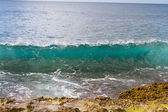 Clear Waves Oahu Hawaii — Stock Photo