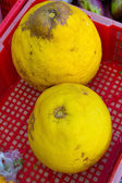 Yellow Unknown Tropical Fruit — 图库照片