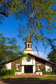 Tropical Church Hawaii — Stock Photo