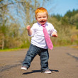 Baby First Steps — Stock Photo #37110165