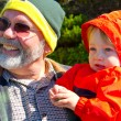 Grandfather and Grandson — Stock Photo #37114361