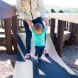 Stock Photo: Mother and Son at Park