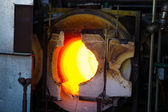 Glassblowing Furnace — Stock Photo