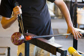 Glassblowing Detail — Stock Photo