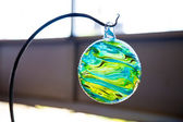 Finished Glassblowing Float — Stock Photo