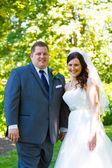 Braut und Bräutigam Hochzeit — Stockfoto