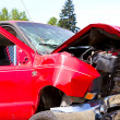 Auto Collision Junkyard Detail — Stock Photo #37130521