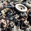 Junkyard Detail Abstract — Stock Photo