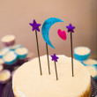 Stock Photo: Planetarium Cake Topper