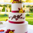 Wedding Cake Detail — Stock Photo #37135687