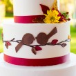 Wedding Cake Detail — Stock Photo