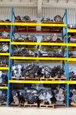 Blocos de motor de automóvel — Foto Stock