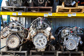 Automobile Engine Blocks — Stockfoto