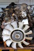 Bloques de motor de auto salvamento reparación — Foto de Stock