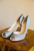 Bride Wedding Shoes — Stock Photo