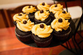 Wedding Cupcakes at Reception — Stock Photo