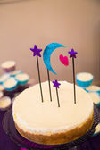 Planetarium Cake Topper — Stock Photo