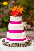 Wedding Cake Detail — Stock Photo