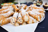 Wedding Reception Dessert — Stock Photo