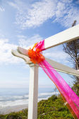 Outdoor Wedding Decor — Stock Photo