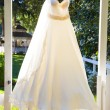 Wedding Dress Hanging Up — Stock Photo #37141351