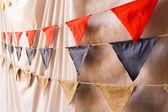 Flag Wedding Decorations — Stock Photo