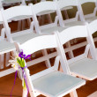 Wedding Venue Chairs — Stock Photo #37153527