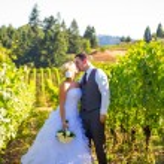 Bride and Groom Wedding Kiss — Stock Photo #37156013