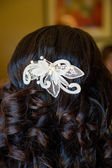 Bridal Beauty Hair — Stock Photo