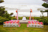 Coastal Wedding Venue — Stock Photo
